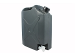 PLASTIC 5 GAL WATER JERRY CAN WITH TAP
